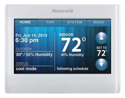 Honeywell thermostat made for Daikin HVAC