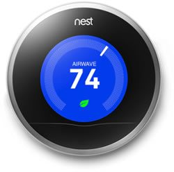 Nest thermostat made for HVAC heat pumps